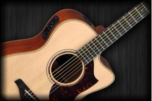 Elektroakusztikus gitár fotó